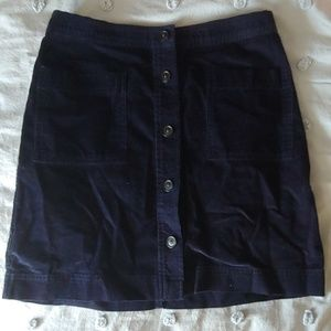 Gap Cord Skirt